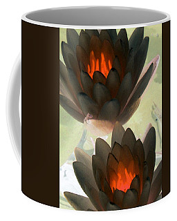Coffee Mug featuring the photograph The Water Lilies Collection - Photopower 1042 by Pamela Critchlow