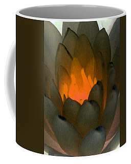 Coffee Mug featuring the photograph The Water Lilies Collection - Photopower 1043 by Pamela Critchlow