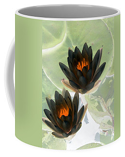 Coffee Mug featuring the photograph The Water Lilies Collection - Photopower 1046 by Pamela Critchlow