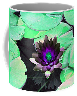 Coffee Mug featuring the photograph The Water Lilies Collection - Photopower 1113 by Pamela Critchlow