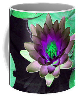 Coffee Mug featuring the photograph The Water Lilies Collection - Photopower 1114 by Pamela Critchlow