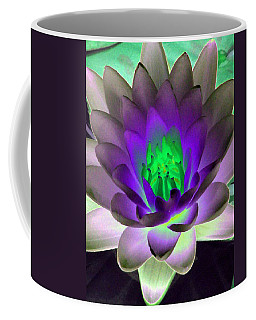 Coffee Mug featuring the photograph The Water Lilies Collection - Photopower 1115 by Pamela Critchlow