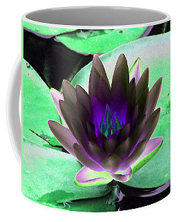 Coffee Mug featuring the photograph The Water Lilies Collection - Photopower 1116 by Pamela Critchlow