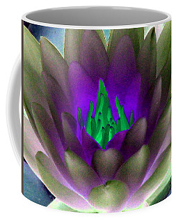 Coffee Mug featuring the photograph The Water Lilies Collection - Photopower 1117 by Pamela Critchlow
