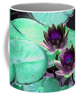 Coffee Mug featuring the photograph The Water Lilies Collection - Photopower 1118 by Pamela Critchlow