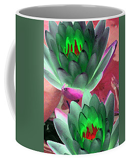 Coffee Mug featuring the photograph The Water Lilies Collection - Photopower 1121 by Pamela Critchlow