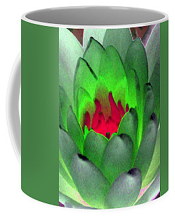 Coffee Mug featuring the photograph The Water Lilies Collection - Photopower 1122 by Pamela Critchlow