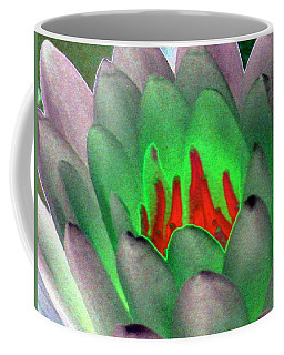 Coffee Mug featuring the photograph The Water Lilies Collection - Photopower 1123 by Pamela Critchlow