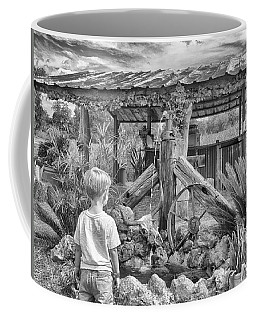 Coffee Mug featuring the photograph The Watering Hole by Howard Salmon