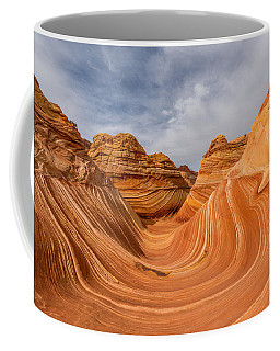 Coffee Mug featuring the photograph The Wave by Dustin  LeFevre