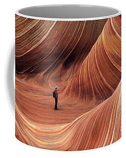 The Wave Seeking Enlightenment Coffee Mug