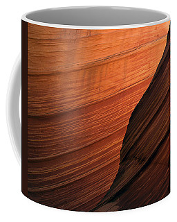 Coffee Mug featuring the photograph 'the Wave' North Coyote Buttes 47 by Jeff Brunton