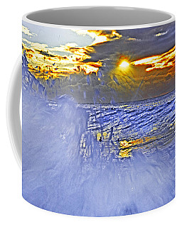 The Wave Which Got Me Coffee Mug by Miroslava Jurcik