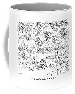 The Weather Looks A Little Iffy Coffee Mug