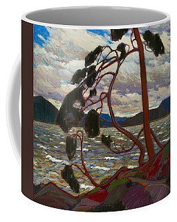 Coffee Mug featuring the painting The West Wind by Tom Thomson