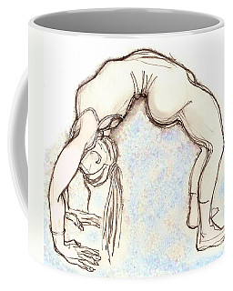 The Wheel - Yoga Poses Coffee Mug