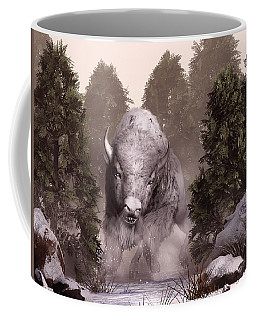 The White Buffalo Coffee Mug