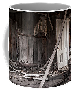 The White Door Coffee Mug