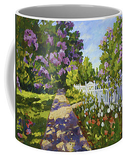 The White Fence Coffee Mug