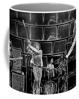 The Who - A Pencil Study - Designed By Doc Braham Coffee Mug