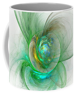 The Whole World In A Small Flower Coffee Mug