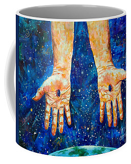 The Whole World In His Hands Coffee Mug