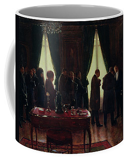 The Widower, 1910 Oil On Canvas Coffee Mug