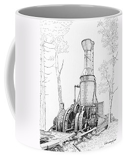 The Willamette Steam Donkey Coffee Mug