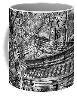 Coffee Mug featuring the photograph The Winding Stairs by Howard Salmon