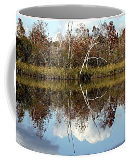 Coffee Mug featuring the photograph The Winter Tree by Debra Forand