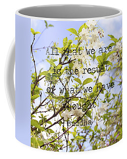 The Wisdom Of Buddha Coffee Mug