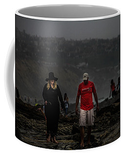 The Witch On The Beach Coffee Mug