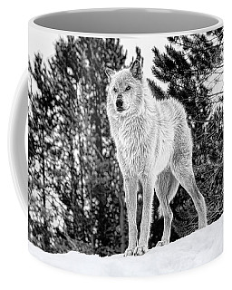 The Wolf  Coffee Mug by Fran Riley