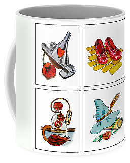 The Wonderful Wizard Of Oz Coffee Mug