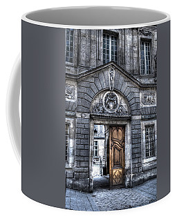 The Wooden Door Coffee Mug