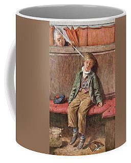 The Word And A Blow, 1875 Coffee Mug