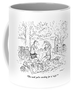 The Word You're Searching For Is 'wife.' Coffee Mug