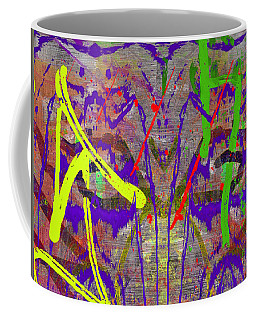 The Writing On The Wall 14 Coffee Mug