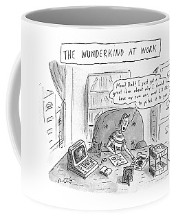 The Wunderkind At Work Coffee Mug