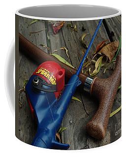 Coffee Mug featuring the photograph The X Men by Peter Piatt