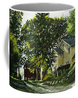 The Yellow House Coffee Mug