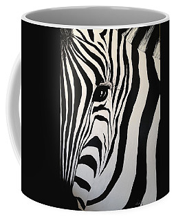 The Zebra With One Eye Coffee Mug