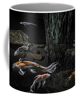 The Zen Of Koi Coffee Mug