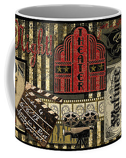 Theater Coffee Mug by Jean Plout