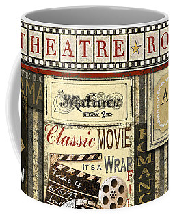 Theatre Room Coffee Mug by Jean Plout