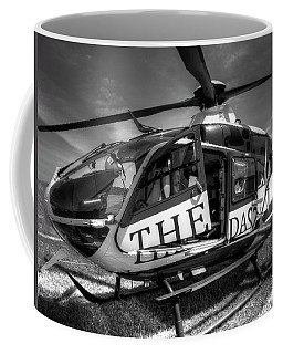 Theda Star Black And White Coffee Mug