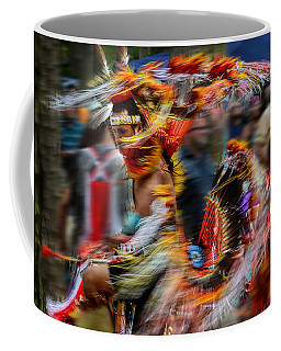 Their Spirit Is Among Us - Nanticoke Powwow Delaware Coffee Mug