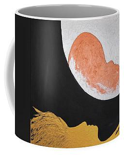 ..then The Moon Come To Kiss Good Bye... Coffee Mug