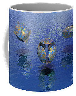 Then There Were Three - Surrealism Coffee Mug