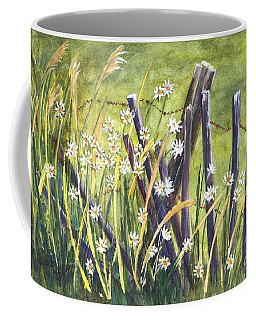 A Daisy A Day Coffee Mug by Carol Wisniewski
